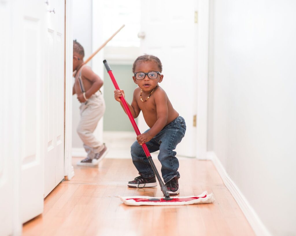House Cleaning With Your Kids